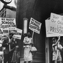 The NAACP-Cleveland's fight for desegregation ultimately leads in 1973 to a federal lawsuit against the Cleveland public schools: the likelihood of court-ordering busing