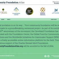 CommunityFoundationAtlas.org website
