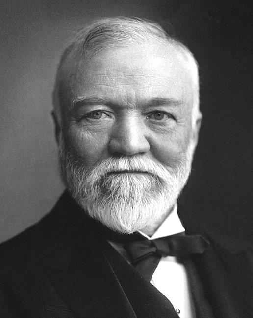Andrew Carnegie, Philanthropist