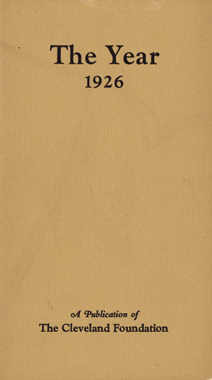 Cover of The Year 1926