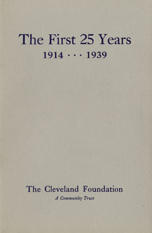 Cover of The First 25 Years: 1914–1939