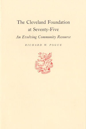 Cover of The Cleveland Foundation at Seventy-Five
