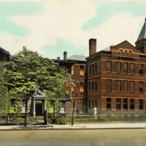 St. Joseph's Orphanage for Girls on Woodland Avenue
