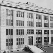 Institute of Pathology at Western Reserve University, as it appeared at its opening in 1929