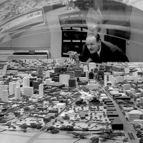 Planning model of Cleveland, c. 1960