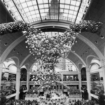 The grand opening of The Avenue at Tower City, 1990