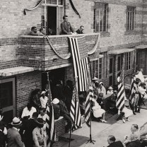 Grand opening of the Outhwaite Homes, 1937