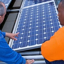 Evergreen Energy Solution's photovoltaic panels