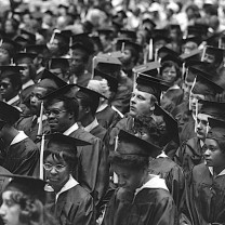 Commencement at Tri-C, 1975