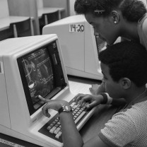 Tri-C's early use of computers as a teaching aid, c. 1980