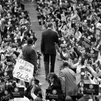 Barack Obama campaigns at Tri-C, 2007