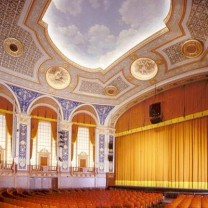 The 2011 renovation of the Allen Theatre's main auditorium