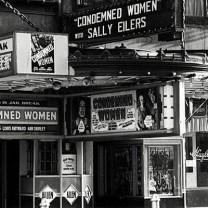 The Allen Theatre, originally an opulent silent movie house, c. 1938
