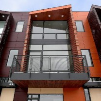 27 Coltman, a luxury townhome development on the eastern boundary of University Circle