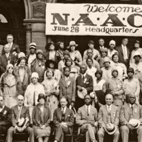 Addressing the changing socioeconomic needs of the African-American community: 20th anniversary convening of the National Association for the Advancement of Colored People, hosted by Cleveland in 1929