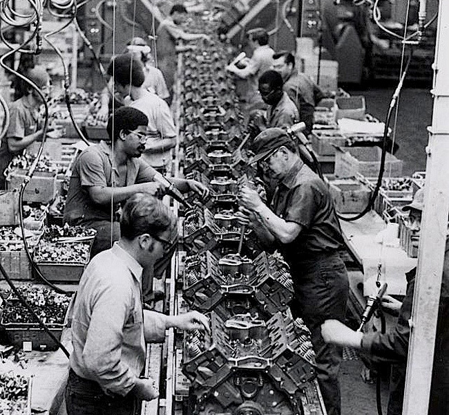 Reinvention the cleveland foundation centennial for Motor city assembly line