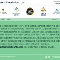 CommunityFoundationAtlas.org website