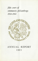 Cover of 1963 Annual Report