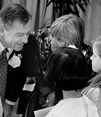 George and Janet Voinovich