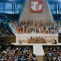 Inauguration ceremony of the 1975 World Conference of the International Women's Year, Mexico City