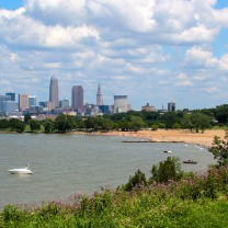 The Ohio Department of Natural Resources invested more than $40 million in capital improvements to the band of green spaces renamed the Cleveland Lakefront State Park.