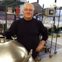 MAGNET incubator tenant Tom Lix, the founder and CEO of Cleveland Whiskey, which has developed a proprietary process for accelerating the aging of distilled liquors