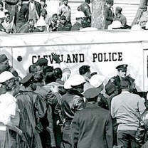 Dispersed by police, the protesters did not succeed in halting construction, but Klunder's martyrdom inspired the civil rights community to continue what was ultimately a victorious fight against segregation of the Cleveland public schools.
