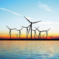 The foundation's vision of creating a wind farm in Lake Erie is moving closer to reality.