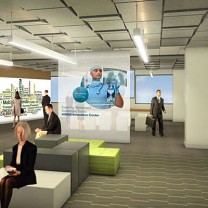 Business attraction: The Global Center for Health Innovation