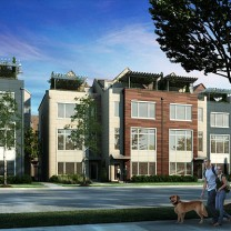 Proposed townhomes for East 118th Street