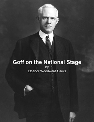 Cover of Goff on the National Stage